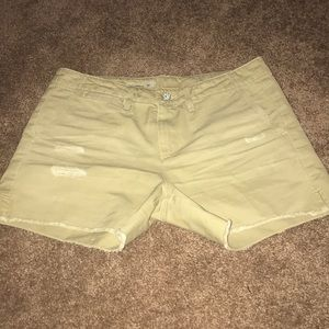 AG Jessica Boy Fit Shorts